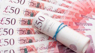 تصویر تولید کاغذهای بانکی برای ۵۰ پوند جدید